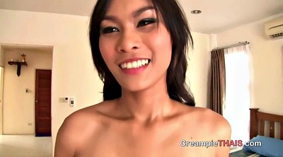 Asian cum, Thai whore, Pov creampie, Asian whore
