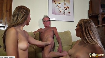Old man, Young masturbation, Young man, Threesomes, Granny pee