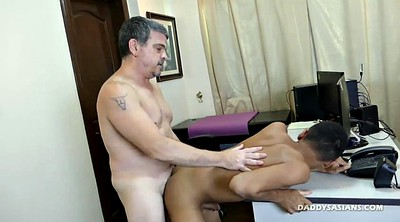 Gay office, Asian gay, Asian daddy, Dad gay, Asian dad