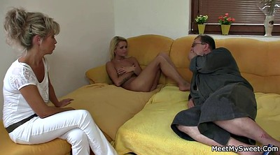 Old couple, Wife threesome