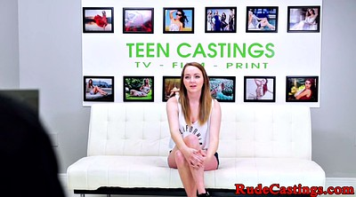 Casting, Busty teen