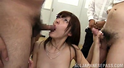Glasses, Asian teacher, Handjob cumshot, Teachers, Teacher handjob, Teacher gangbang