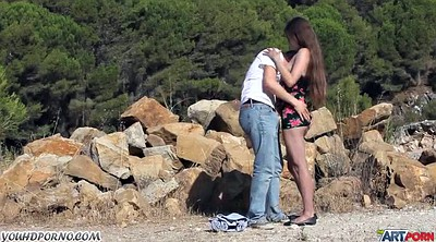 Young, Public outdoor