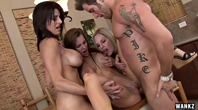Foursome, Milf porn, The blond