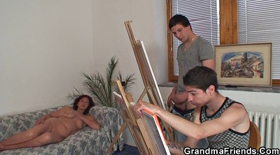 Teen boy, Old woman, Maturing woman, Granny boy, Mature woman, Mature and boy