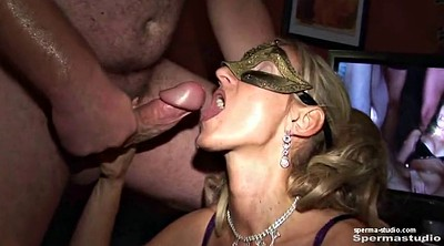Cum in mouth, Gangbang creampie, German gangbang, In mouth