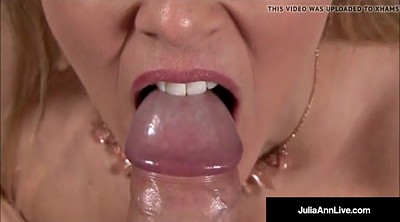 Julia ann, Deep throat, Julia, Cock, Dirty talk, Anne
