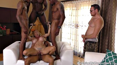 Mom gangbang, Watch, Milf mom