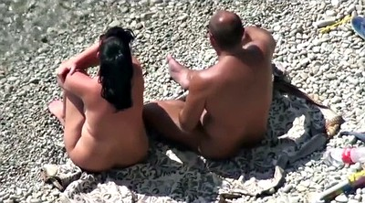Beach, Public couple, Horny couple, Beach fuck