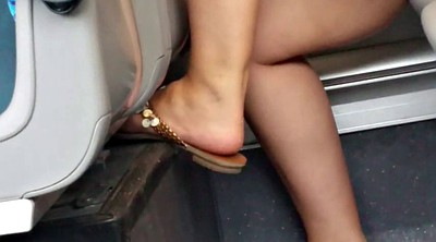 Upskirt, Leggings, Train