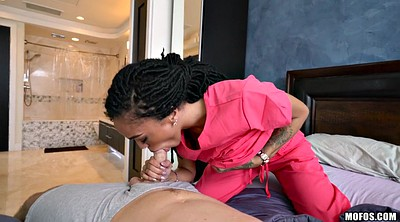 Ebony blowjob, Black cock