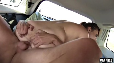 Car fuck, Car blowjob, Breast