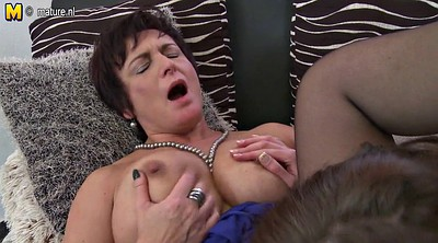 Sucking, Old and young, Mature lesbian