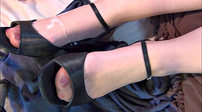 Feet, Nylon feet, Nylons, Heels, Stockings feet, Stocking foot