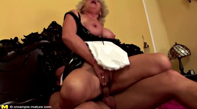 Mom creampie, Hairy mom, Granny creampie