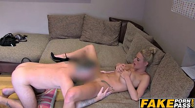 Busty, Anal casting