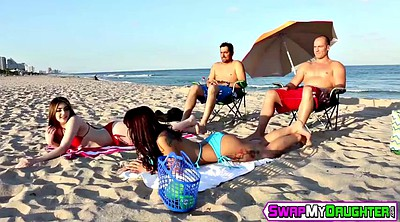 Blowjob, Teens, Gina valentina, Gina, Beach blowjob