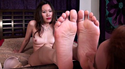 Foot, Chinese foot, Asian feet, Chinese foot worship, Asian lesbian, Lesbian foot worship