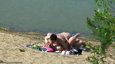 Nudist, Spying, Beach voyeur