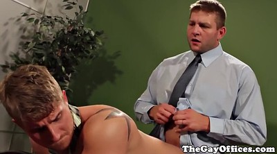 Office gay, Tattoo anal, Anal gaping, Punishment anal