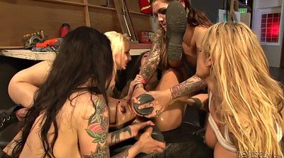 Squirt, Prolapse, Anal prolapse, Pee face, Lesbian orgy
