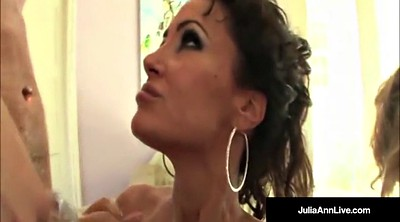 Lisa ann, Julia ann, Mature group, Mature anne, Milf anne, Mega