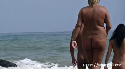 Beach nudist, Nudist, Naked public