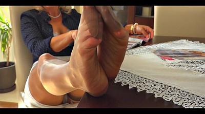Nylon foot, Nylon milf