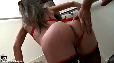 White hair, Black hd, Interracial missionary