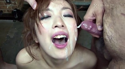 Japanese bukkake, Asian creampie