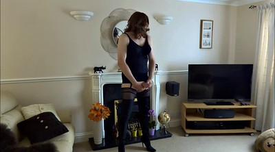 Stockings, Crossdress, Gays boots