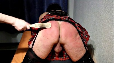 Spanking, Crossdressing