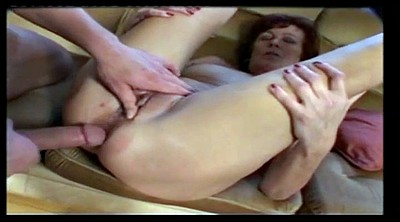 Mature anal, Granny anal, Vintage anal, Throated, Granny creampie, Milf anal creampie