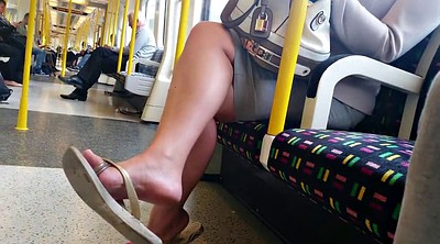 Candid, Tube, Tubes, Feet foot, Candid foot, Flip flops