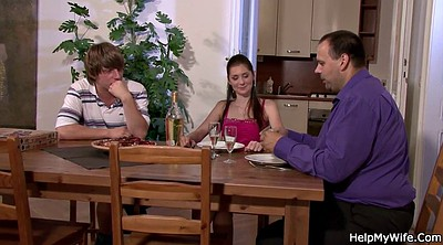 Pizza, Married, Young girl, Czech girl