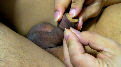 Needle, Needles, Asian bdsm, Gape, Foreskin, Needl