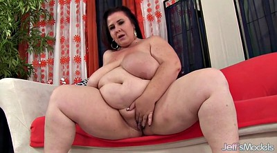 Mature bbw, Huge toy
