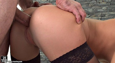 Threesome anal, Face fuck