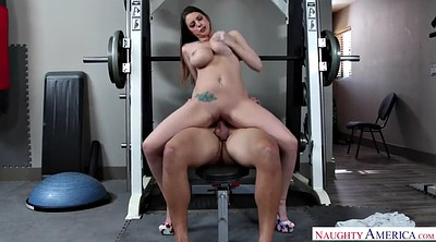 Brooklyn chase, Chase, Muscled milf