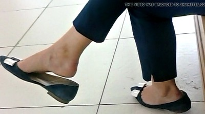 Feet, Mall, Candid