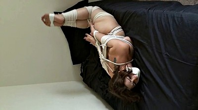 Tied, Foot gagging, Rope