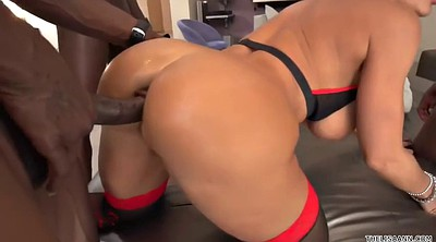 Lisa ann, Ann, Anne, Interracial anal, Black ebony, Lisa anal