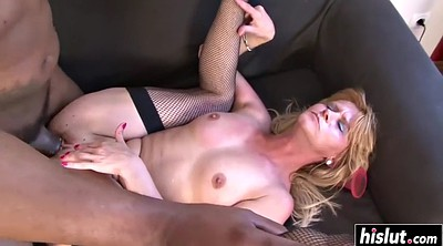 Fishnet, Stockings creampie, Milf stockings