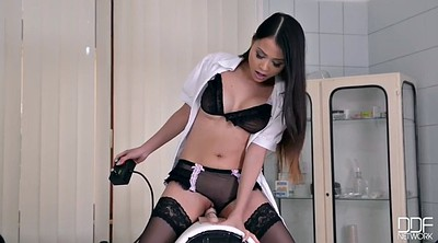Nurse, Asian riding, Anal asian
