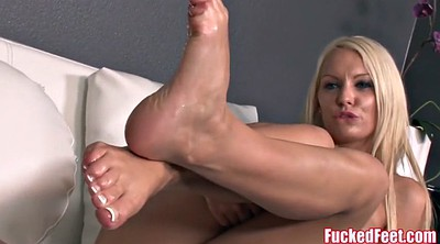 Cute, Kenzie, Teen footjob