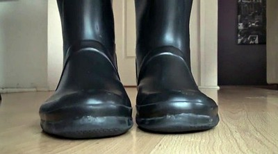 Boot, Rubber, Rubber latex, Foot fetish