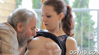 Old pussy, Russian young, Granny blowjob