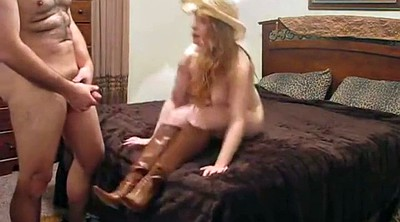 Boots, Blowjob, Country girl