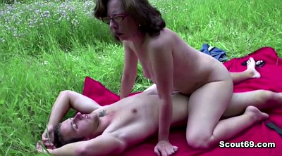 Old, Anal granny, Old & young