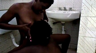 Bathroom, African, Black pussy licking, Licking pussy